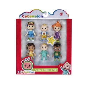 Cocomelon Friends and Family 6 figure set